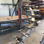 Scala in acciaio inox per Yacht